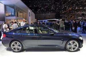 2014 BMW 4-Series Gran Coupe Live From Geneva 2014