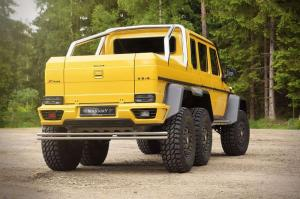 2015 Mercedes-Benz G63 AMG 6x6 by Mansory