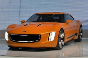 2014 Kia GT4 Stinger Concept Live From Detroit 2014