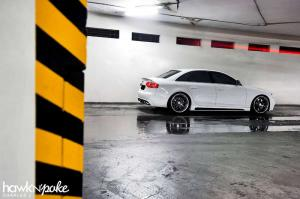 2014 Audi A4 B8 by Rieger from Indonesia