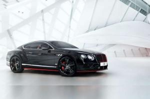 2016 Bentley Continental GT Black Speed by Mulliner