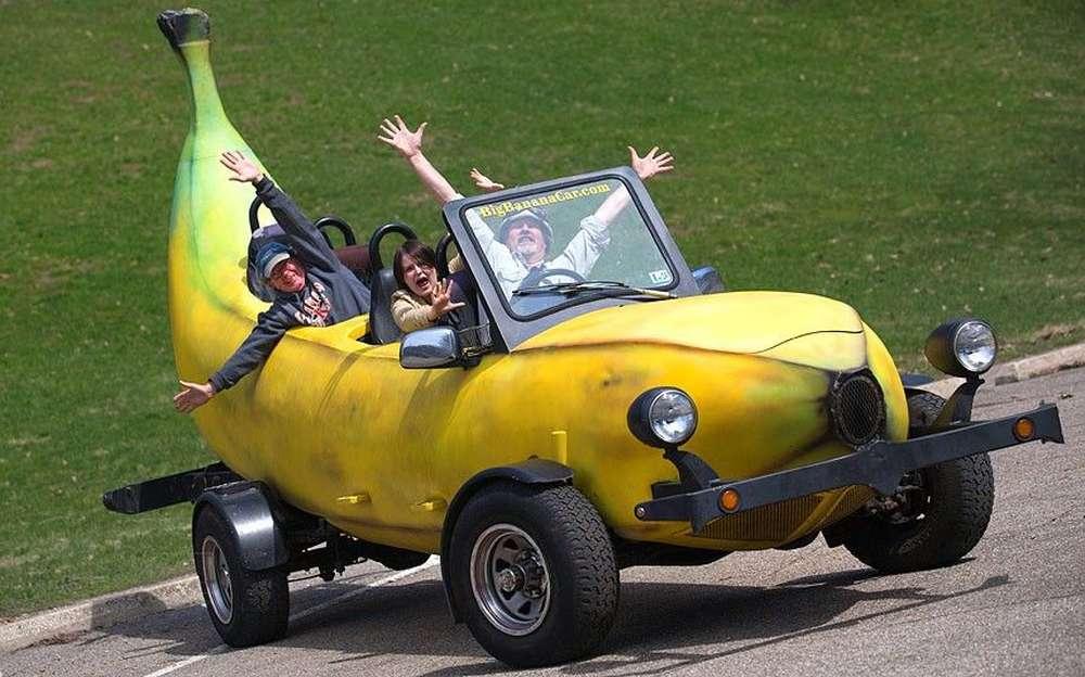 Очень смешные авто картинки