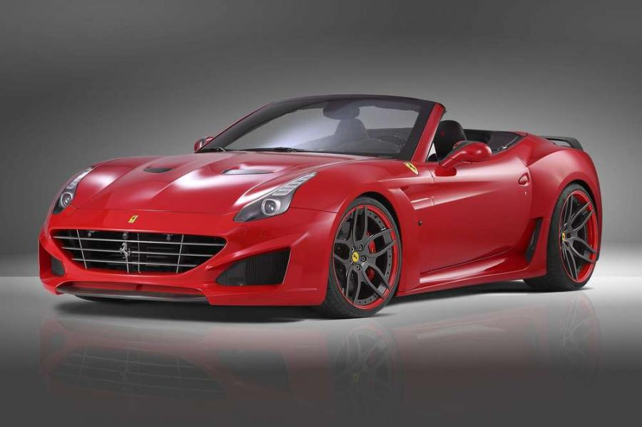 В Novitec Rosso доработали Ferrari California T