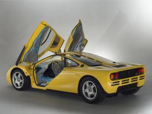 1997 McLaren F1 Dandelion Yellow with Dark Grey