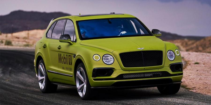Bentley Bentayga попытается установить рекорд в гонке на горе Пайкс-Пик