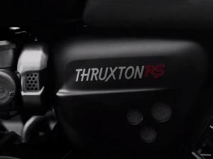 Тизер Triumph Thruxton RS 2020