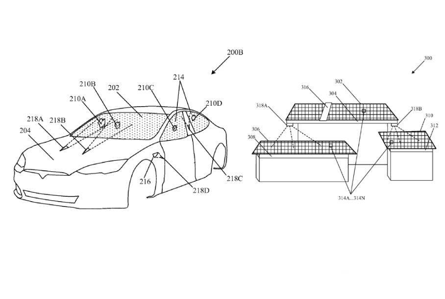 Tesla предложила заменить обычные дворники лазерами