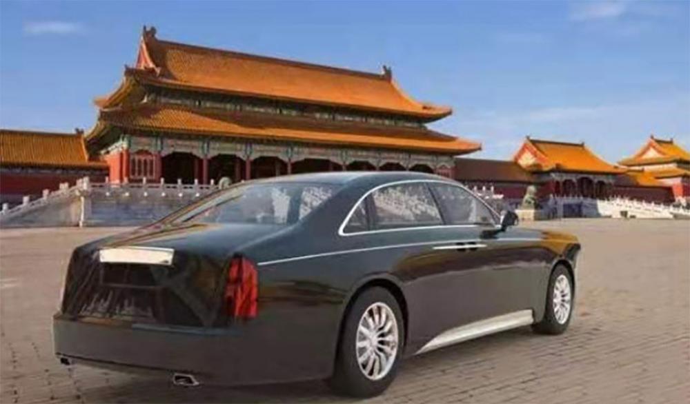 Китайский правительственный седан Hongqi сделают похожим на Rolls-Royce