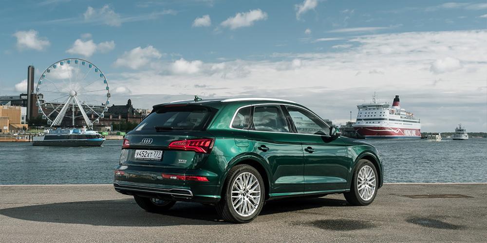 Audi привезла в Россию кроссовер Q5 с 249-сильным дизелем V6