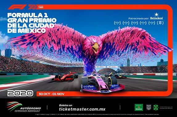 В Мехико представили три разных афиши Гран При