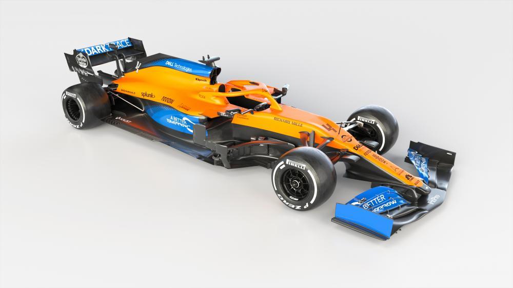 Презентация McLaren MCL35