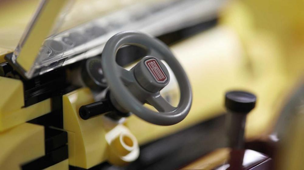 Fiat 500 Lego Creator Expert