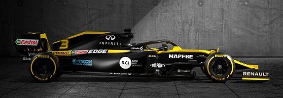 В Renault представили раскраску и титульного партнёра