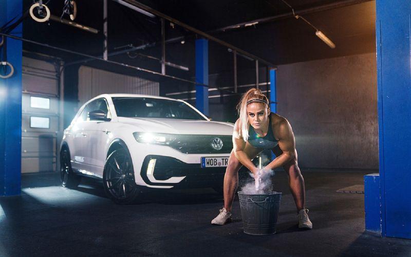 Лицом спортивного подразделения Volkswagen R стала чемпионка по кроссфиту