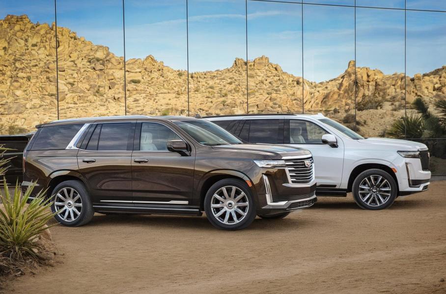 Cadillac рассекретил шестиметровый Escalade