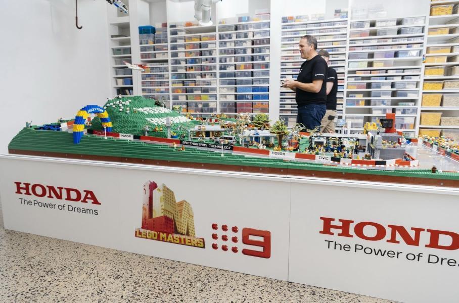 Главный гоночный автодром Австралии воссоздали с помощью Lego