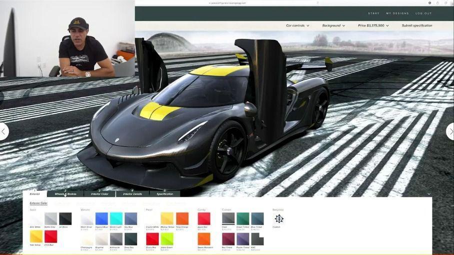 Одна опция для Koenigsegg Jesko стоит как целый Lamborghini Aventador