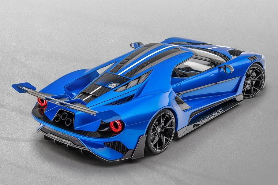 Суперкар Ford GT с карбоновым кузовом оценили в 1,8 миллиона евро