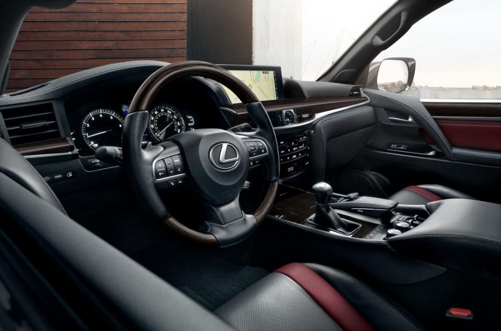 новый Lexus LX 570