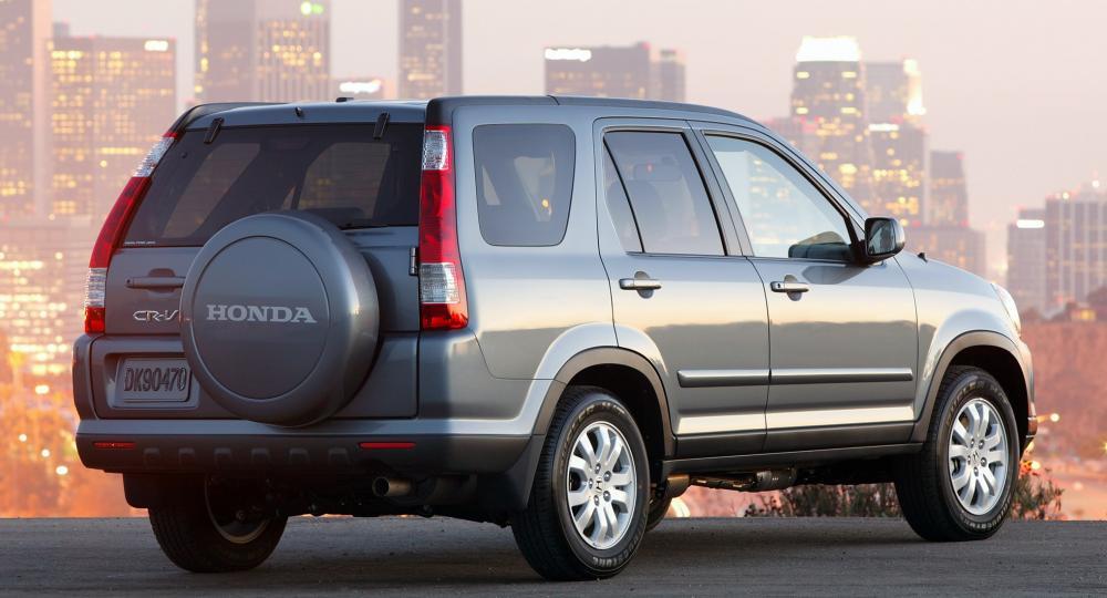Honda CR-V 2006 рынок США