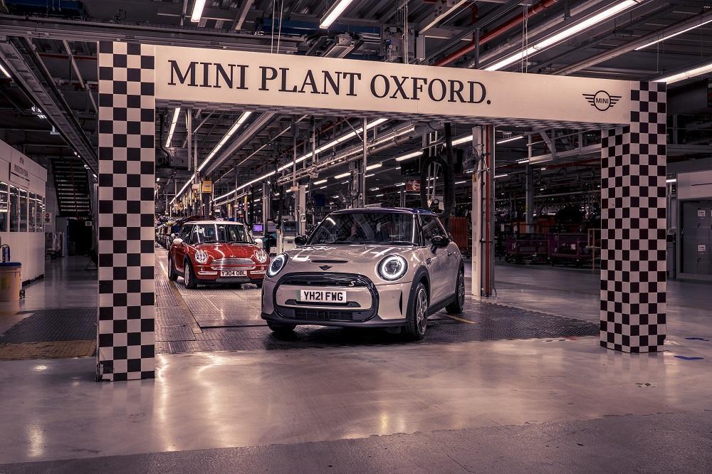 Завод mini в Oxford