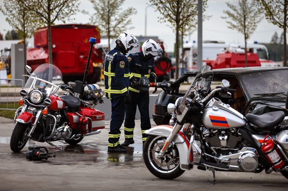 Harley-Davidson Road King Police в МЧС