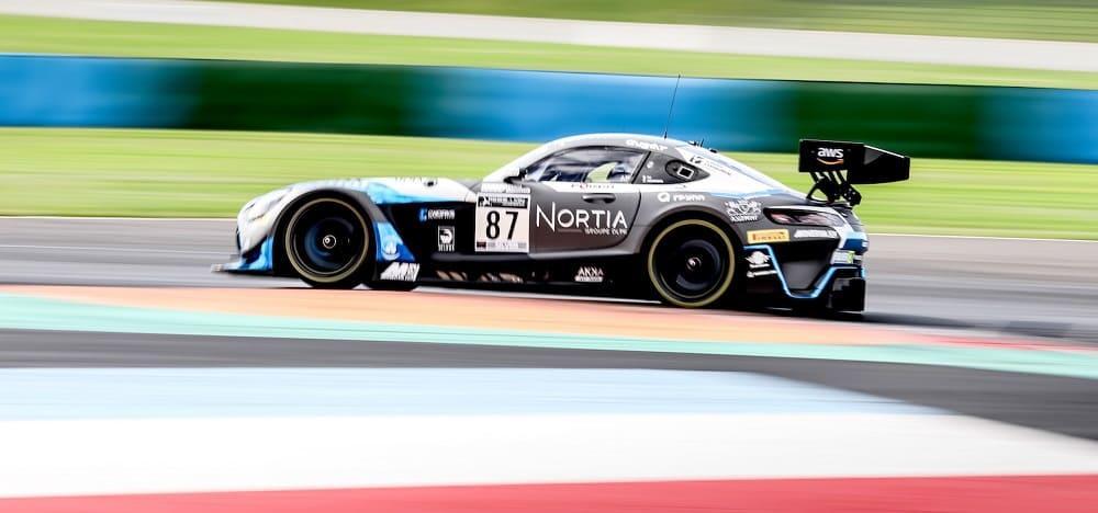 купе Mercedes-AMG GT3 №87