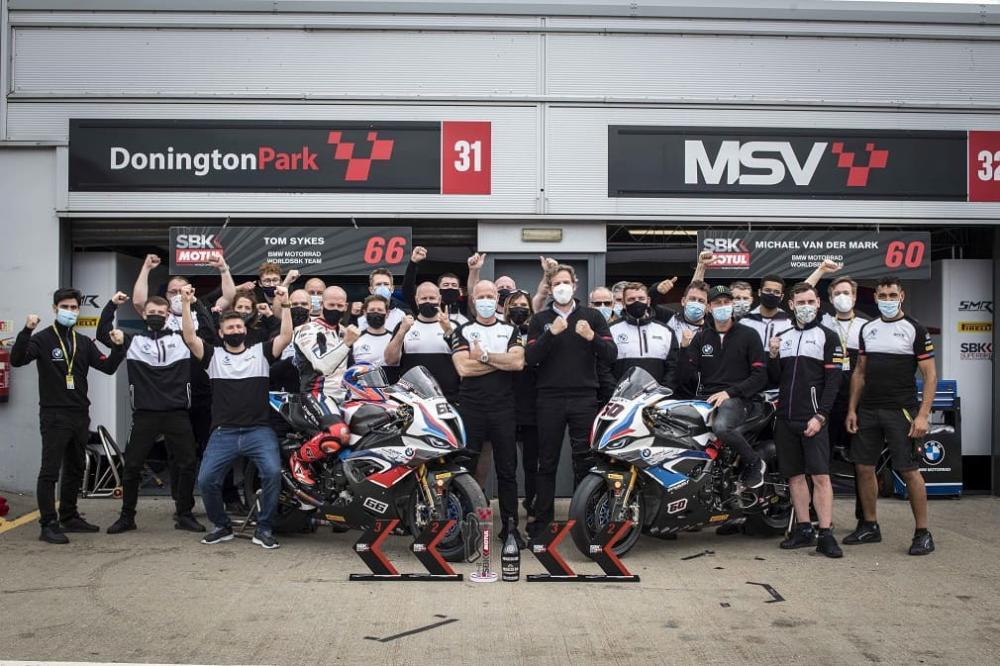 команда BMW Motorrad Motorsport WorldSBK