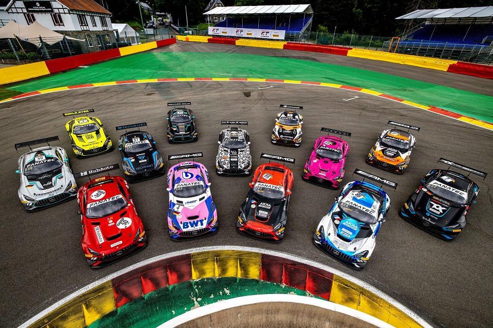 автомобили на гонке TotalEnergies 24 Hours of Spa