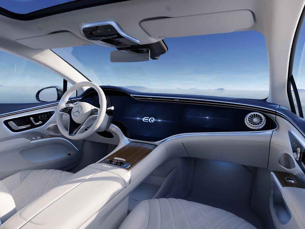 интерьер Mercedes-Benz EQS 450+