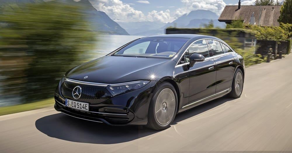 внешний вид Mercedes-Benz EQS 580 4MATIC