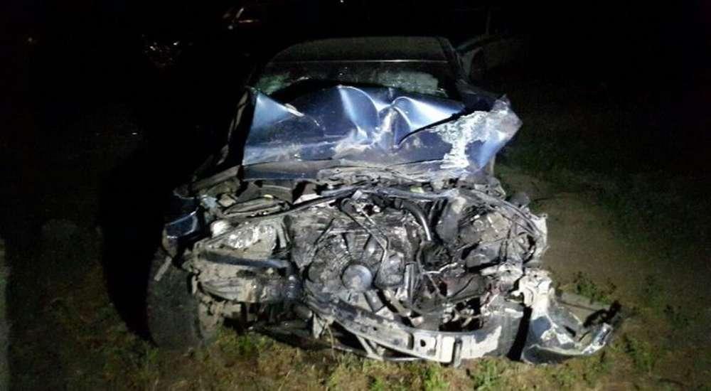 Автомобиль откинуло в кювет в ДТП в Алматы  6 пострадавших. VERcity 9b62e6441e7
