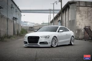 Audi S5 Coupe X Work on Vossen Wheels (VWS-2)