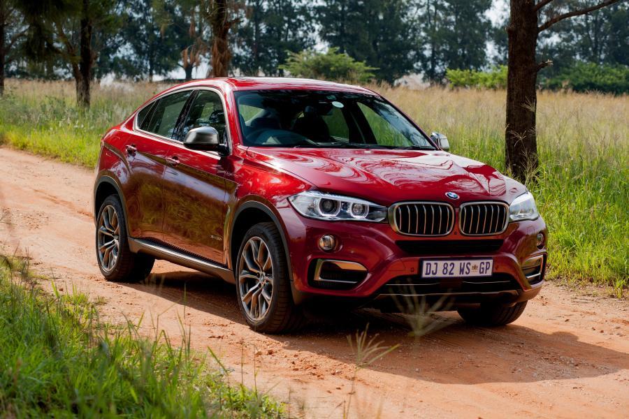 красный автомобиль bmw x6 red car  № 318954 бесплатно