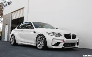BMW M2 Coupe in Alpine White by EAS