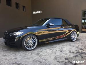 BMW M235i Convertible by RACE! on HRE Wheels