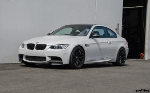 BMW M3 Coupe in Mineral White by EAS