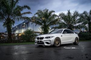 BMW M2 Coupe by Antelope Ban on ADV.1 Wheels (ADV5.0 TRACK FUNCTION SL)