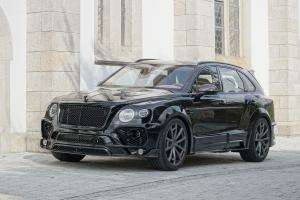 Bentley Bentayga in Black by Mansory