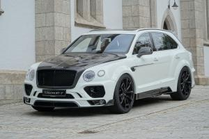 Bentley Bentayga in White by Mansory