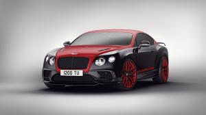Bentley Continental GT Continental 24 Black & Red
