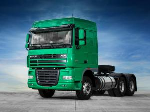 DAF XF105 6x4 Green Mint