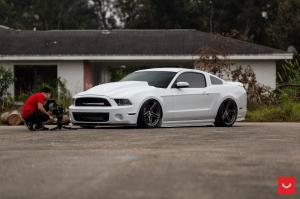 Ford Mustang GT Turbo on Vossen Wheels (VFS5)