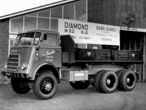 GINAF BV on chassis Diamond T M52