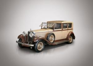 Hispano-Suiza H6B Coupe Chauffeur by Binder