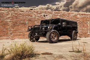 Hummer H1 Search Destroy by EVS motors on ADV.1 Wheels (ADV5S Truck Spec HD.1)
