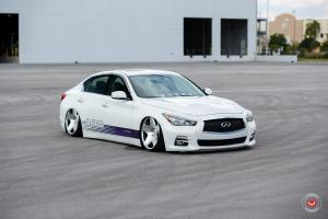 Infiniti Q50 on Vossen Wheels (VPS-318)