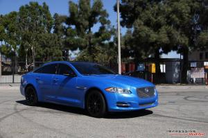 Jaguar XJ in Avery Diamond Blue by Impressive Wrap