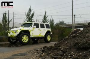Jeep Wrangler Ultimate in White by MC Customs