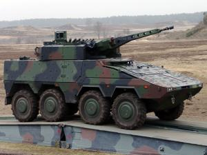 KMW Boxer 8x8 with LANCE Turret